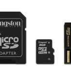 MICRO SD 4GB KINGSTON+card reader+2adp MBLY10G2/4GB