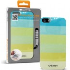 CANYON iPhone5 IML case with stylus and screen protector, Green, Retail external color: green