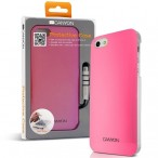 CANYON iPhone5 IML case with stylus and screen protector, Pink, Retail external color: pink