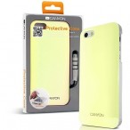 CANYON iPhone5 IML case with stylus and screen protector, Ivory white, Retail external color: Ivory white