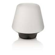 Wellness table lamp beech 1x15W 230V