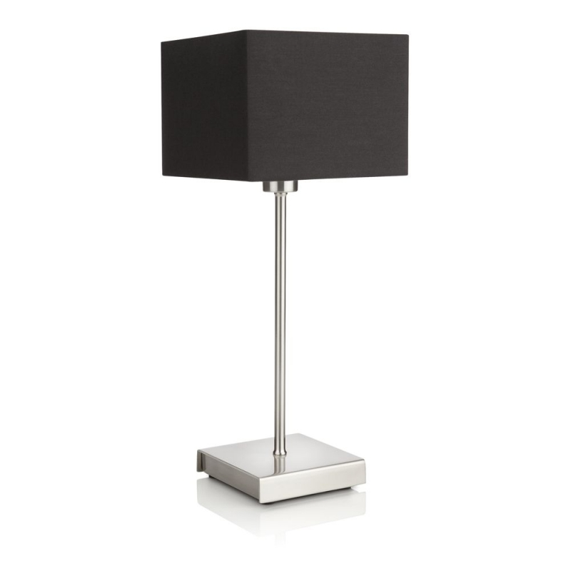 Ely table lamp nickel 1x42W 230V - Stone lampe