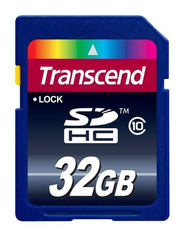 SECURE DIGITAL CARD 32GB TRANSCEND TS32GSDHC10 - SD