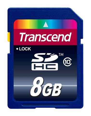 SECURE DIGITAL CARD 8GB TRANSCEND TS8GSDHC10 - SD