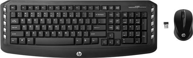 NOT DOD HP Keyboard + Mouse Wireless Clasic , LV290AA - Bežične tastature