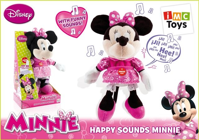 PliÅ¡ Happy Sounds Minnie - Plišane igračke